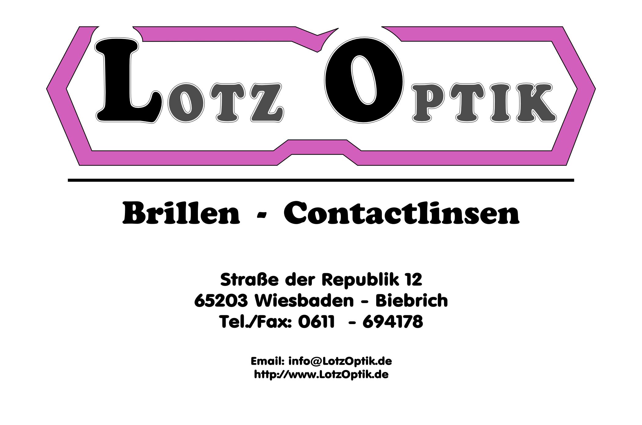 Lotz Optik, Wiesbaden Biebrich - Unsere Dienstleistung ist die Stärkung Ihrer Sehleistung